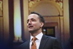SAP AG  CEO Jim Hagemann Snabe Stock Image