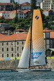 SAP Extreme Sailing Team compete Stock Photos