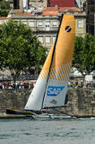 SAP Extreme Sailing Team compete Royalty Free Stock Photo