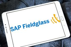 SAP Fieldglass software company logo Stock Images