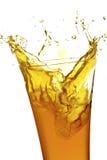 Sap in glas Royalty-vrije Stock Foto