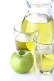Sap van appelen Royalty-vrije Stock Foto's