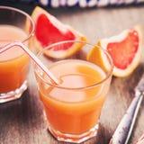 Sap van grapefruit Royalty-vrije Stock Afbeelding