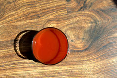 Sap van tomaten Stock Afbeelding