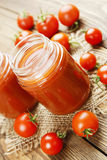 Sap van tomaten Royalty-vrije Stock Fotografie