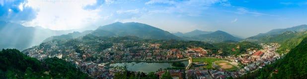 Sapa, Laocai,越南 免版税图库摄影