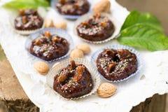 Sapa bread cupcakes, Sardinian Dessert Stock Image