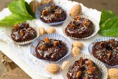 Sapa-Brotkleine kuchen, sardinischer Nachtisch lizenzfreies stockfoto