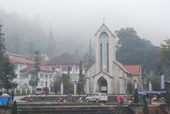 Sapa Church, Vietnam Stock Photography
