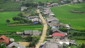 Sapa escénico Vietnam almacen de metraje de vídeo