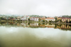 Sapa Lake view, Vietnam Stock Photography