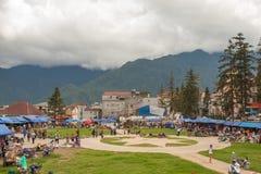 Sapa, Lao Cai Province, Vietnam Lizenzfreie Stockbilder