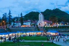 Sapa, Lao Cai Province, Vietnam. Stock Photography