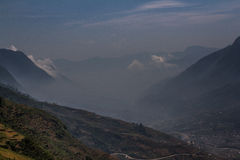 Sapa, Northern Vietnam. This is the town of Sapa, northern Vietnam Stock Photography