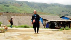 Sapa scénique Vietnam banque de vidéos