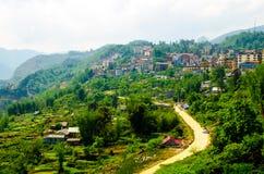 Sapa Town at Lao Cai Vietnam