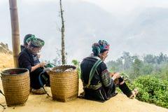 Sapa, Vietnam Fotografie Stock