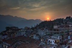 Sapa, Vietname do norte imagens de stock royalty free
