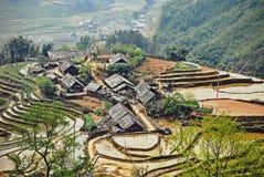 Sapa. Village on Sapa district, Vietnam Stock Photography