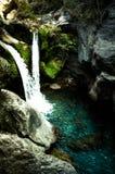 Sapadere Canyon and waterfall. Alanya, Turkey. tinted Royalty Free Stock Image