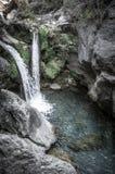 Sapadere Canyon and waterfall. Alanya, Turkey. tinted Royalty Free Stock Photos