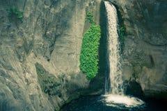 Sapadere Canyon and waterfall. Alanya, Turkey. tinted Stock Images