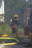 Sapador-bombeiro Fotos de Stock