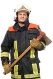 Sapador-bombeiro Fotografia de Stock Royalty Free