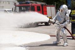Sapador-bombeiro Imagens de Stock