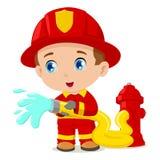 Sapador-bombeiro Foto de Stock Royalty Free