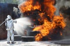 Sapador-bombeiro imagem de stock royalty free