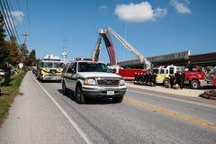 Sapador-bombeiro caído Honored Foto de Stock Royalty Free