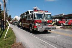 Sapador-bombeiro caído Honored Imagens de Stock