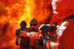Sapadores-bombeiros imagens de stock