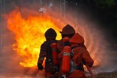 Sapadores-bombeiros imagem de stock
