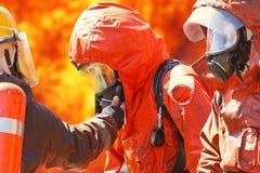 Sapadores-bombeiros imagem de stock royalty free