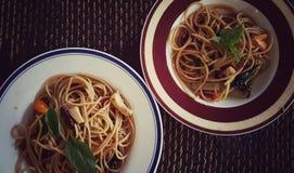 Sapaghetti picante Imagens de Stock