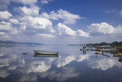 Sapanca Lake royaltyfri foto