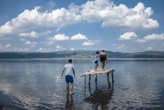 Sapanca Lake royaltyfria bilder