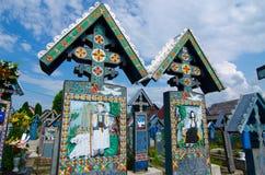 Sapanta, ορόσημο Maramures Στοκ φωτογραφία με δικαίωμα ελεύθερης χρήσης