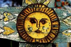 sapanta перекрестной детали кладбища веселое Стоковые Фотографии RF