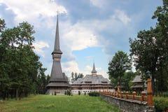 Sapanta仙子修道院, Maramures 库存照片