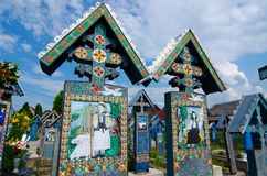 Sapanta, Maramures landmark Royalty Free Stock Photography