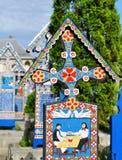 Sapanta merry cemetery Royalty Free Stock Image