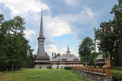 Sapanta Peri Monastery, Maramures Photo stock