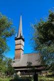 Wooden Church in Surdesti, Maramures Stock Images