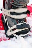Sapata da snowboarding Fotografia de Stock