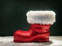 Sapata do Natal Fotografia de Stock