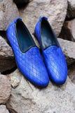 A sapata dos homens à moda Imagem de Stock Royalty Free