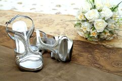 Sapatas bonitas Imagens de Stock Royalty Free